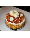 """Торт из цветов """"Медовик"""""""